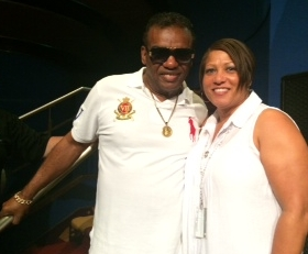 Ron Isley & Seattle resident Adele Holifield